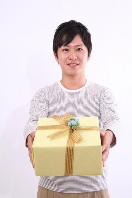 男性からプレゼント