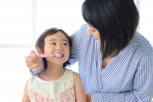 子供歯磨き
